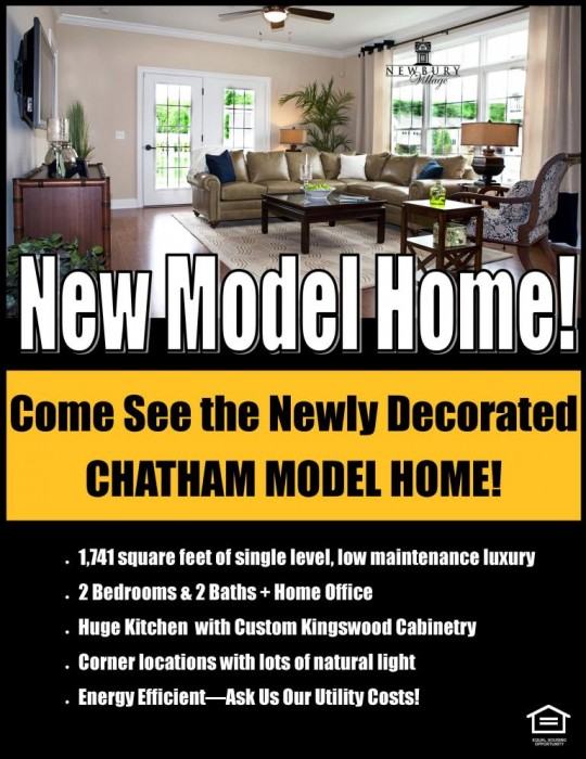 New Chatham Model Home